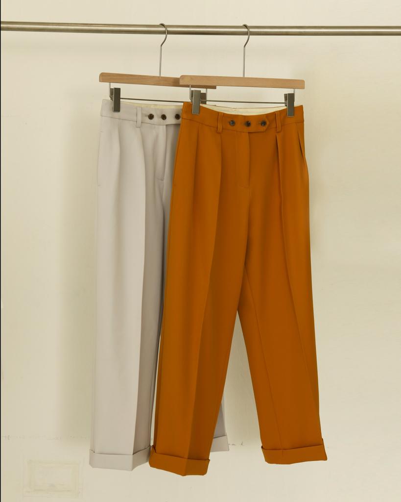 TODAYFUL トゥデイフル LIFE's ライフズ Twill Tuck Trousers 12010723 吉田怜香ディレクションブランド LIFE'S 通販 2020 SPRING