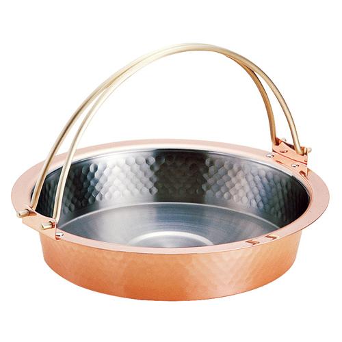 純銅 すき焼鍋26cm S-2058L