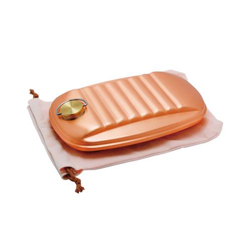 銅製 湯たんぽ(小)袋付 S-9395S