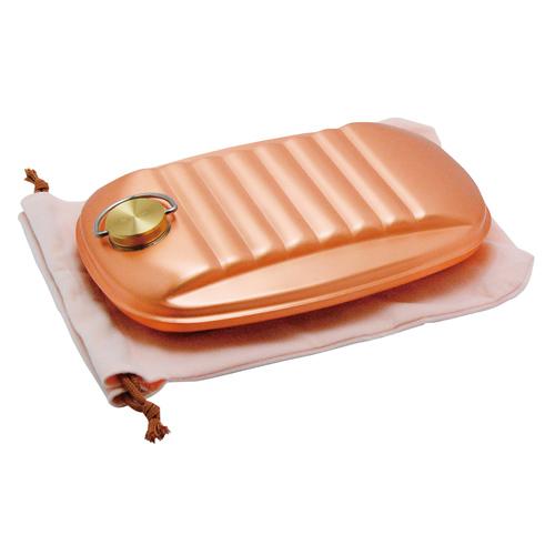 銅製 湯たんぽ(大)袋付 S-9395L