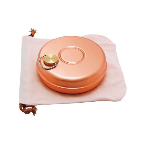 銅製 ミニ湯たんぽ(袋付) S-9397