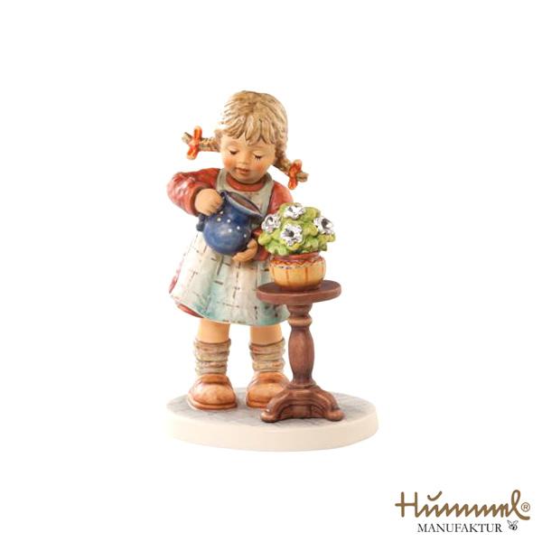 M.I Hummel/フンメル人形・フンメルドールお水をあげるよ【正規代理店品】