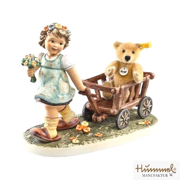 M.I Hummel/フンメル人形・フンメルドールクマさんとお散歩【正規代理店品】