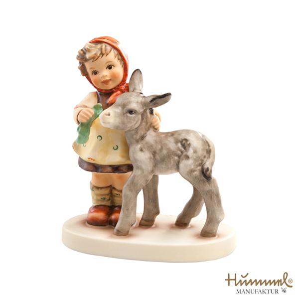 M.I Hummel/フンメル人形・フンメルドールロバと少女【正規代理店品】