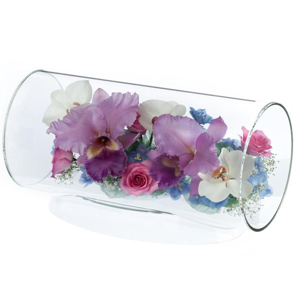本物の花で、想いを伝える。レンデフロール カトレア・胡蝶蘭・バラ TC-V