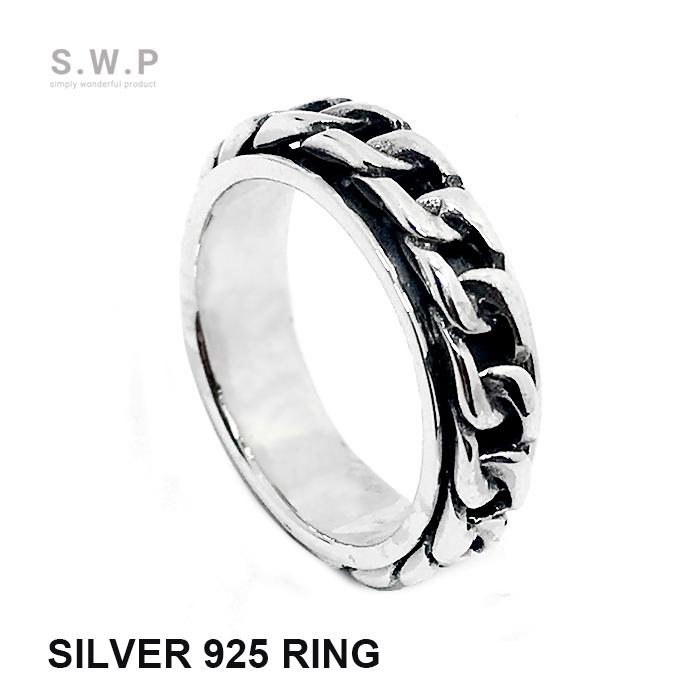 リング メンズRING スピード対応 全国送料無料 シルバー925 買物 指輪 メンズ チェーン