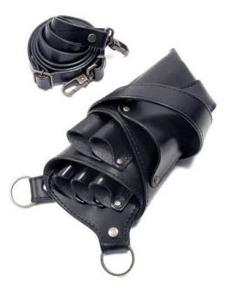 【受注生産】カオティックオリジンダブ CHAOTIC ORIGIN DUB シザーケース 307(5丁用) BK ブラック