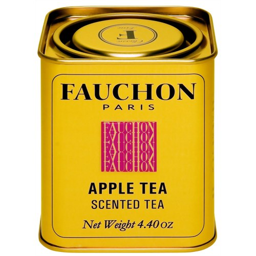 紅茶の美味しさを広げ 優先配送 世界中から愛されている FAUCHON フォション アップル 125gリーフ 缶入り パリ 紅茶 フレーバー フランス 注目ブランド