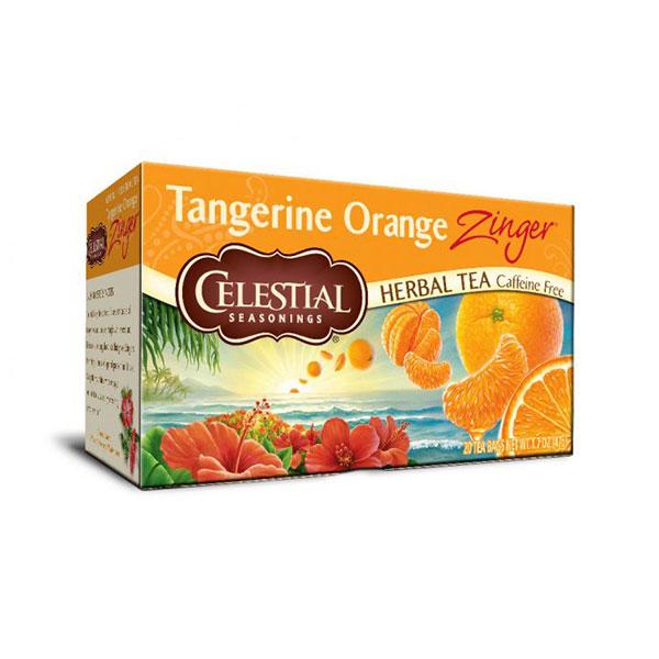 40年以上の歴史を持つハーブティーメーカー セレッシャル タンジェリンオレンジ ジンガー 定番の人気シリーズPOINT ポイント 送料無料限定セール中 入荷 20TB
