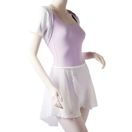 クラシックコレクション 半袖レオタード P01 & シュラッグ 101 & ラップスカート 02