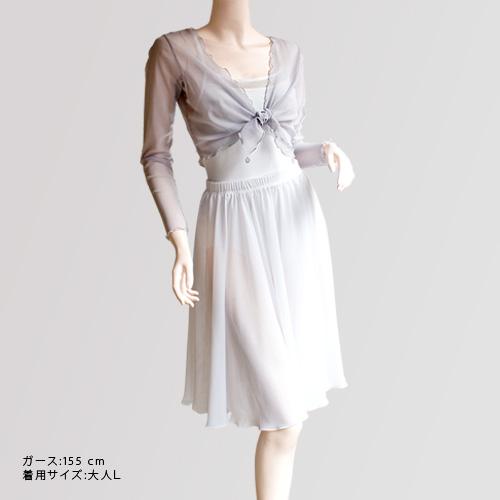 メッシュタイトップ 303&スタイリッシュコレクション キャミソールレオタード 29&キャラクタースカート(シフォン)