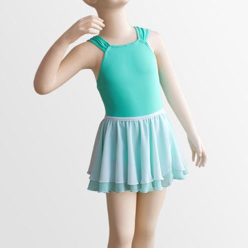 スタイリッシュコレクション タンクレオタードN09&バレエスカート07 (子供サイズ)