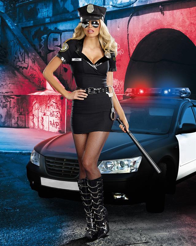 【正規輸入商品】婦人警官・ポリスコスチューム Dirty Cop Officer Anita Bribe  ハロウィン/衣装/セクシー/SEXY/コスプレ/ハロウィーン/仮装/パーティー/Halloween/DreamGirl/ドリームガール