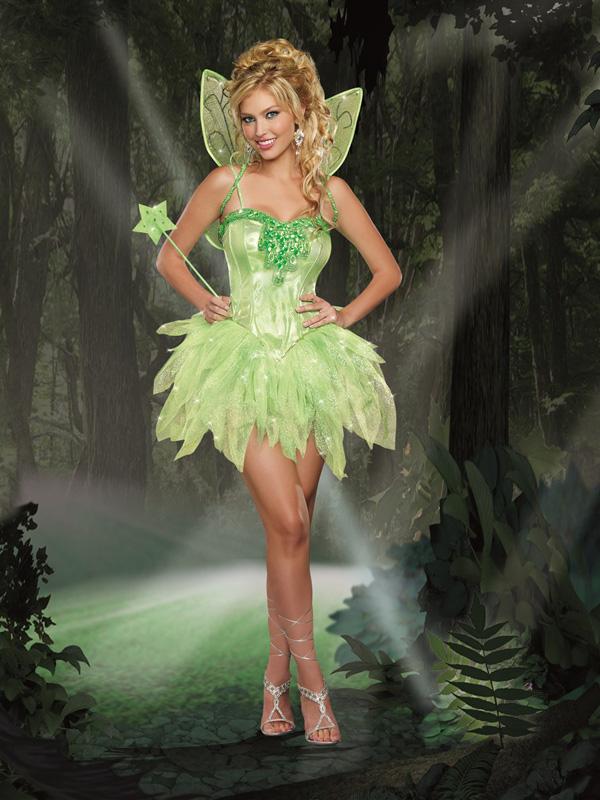 妖精コスチューム Fairy-Licious  ハロウィン/衣装/セクシー/SEXY/コスプレ/ハロウィーン/仮装/パーティー/Halloween/DreamGirl/ドリームガール