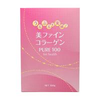 【送料無料】美ファインコラーゲン 100 300g コラーゲン 顆粒 コラーゲンパウダー 【詰め替えパック】5個セットRSYコラーゲン のリニューアル版 中身は同じです。