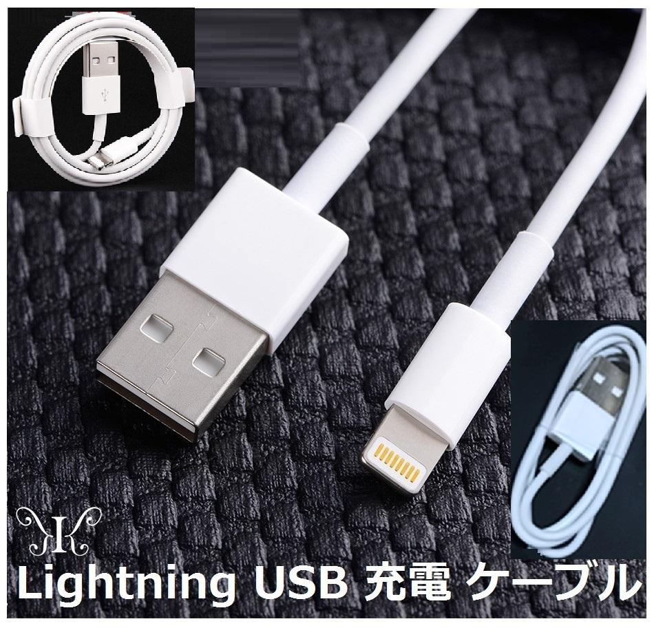 定形外ライトニング急速充電データ転送1mappleLightningUSBケーブル在庫有純正品質