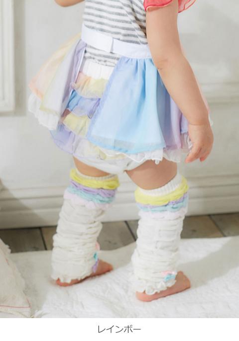 9712cec1b85516 【ベビー】【kidszoo】フリフリブルマ【ベビー赤ちゃんベビー服女の子ウェアウエアボトムス