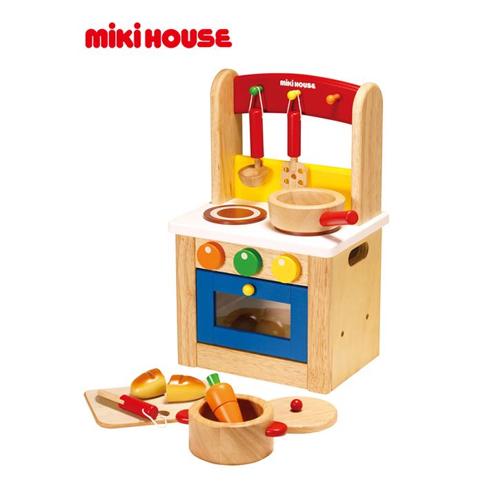 【送料無料】【ベビー】ミキハウス・キッチンセット【ベビーギフト ミキハウス 出産祝い おもちゃ 赤ちゃん】