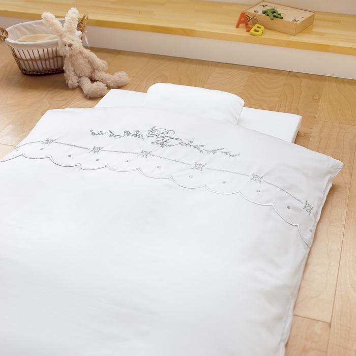 【送料無料】【ベビー】 【日本製】ロイヤルスター羽毛組布団 6点セット 【赤ちゃん/ふとん/寝具】