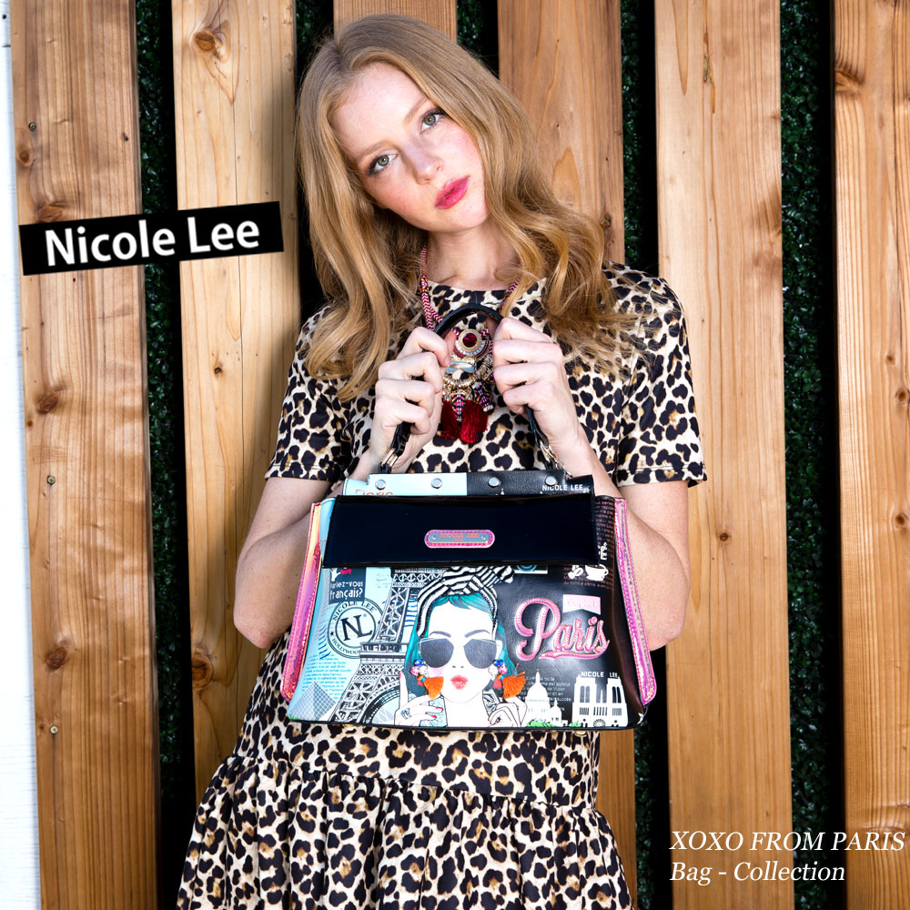 946ffe1a4 2019SS new work amount-limited! NICOLE LEE Nicole Lee XOX14060 XOXO FROM  PARIS Parisienne ...
