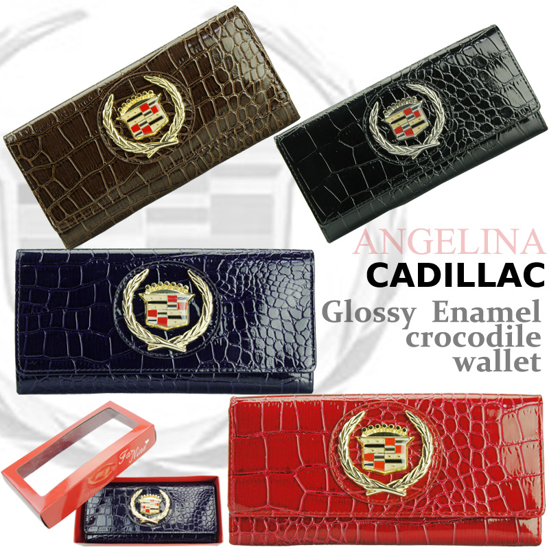 The last one! Executive series! Cadillac grossieenamelcrococadi rack wallet ( genuine Cadillac classic cars American car giveaway ladies mens cadillac genuine celebrity Paris CADE rack genuine Cadillac wallet * ns * ld