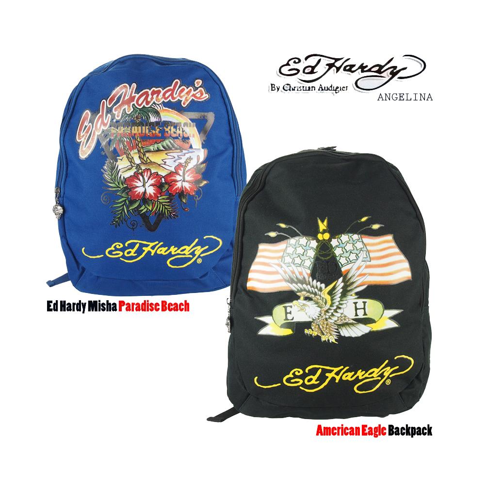 dc1b42498dec Ed Hardy Misha Paradise Beach American Eagle Backpack ( EH1A1A2AMEBK  EH1A1A2PRD Ed Hardy backpack black American Eagle blacked and Hardy  nabyparadisebeach ...