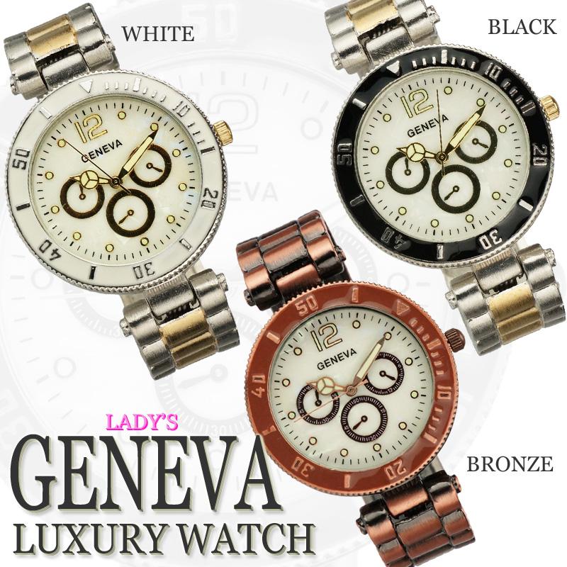 Angelina1 6 8 shinnyu load geneva midler 2014 simple business model chronograph bangle watch for Celebrity quartz watch