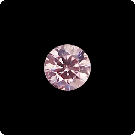 ピンクダイヤモンドルース0.147ct FANCY LIGHT PINK-SI2(中央宝石研究所鑑定書付)