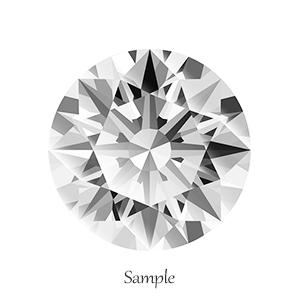 ダイヤモンドルース0.31ct E-VS1-3EX(GIA鑑定書付)