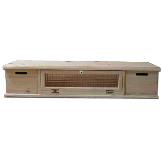 テレビ台 55型 チェッカーガラス扉 無塗装白木 w125d36h26cm 収納BOX付き 自然木天板 木製 ひのき オーダーメイド