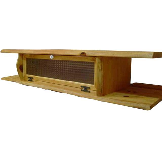 テレビ台 50型 ナチュラル w120d36h26cm チェッカーガラス扉 木製 ひのき オーダーメイド