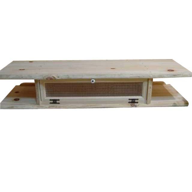 テレビ台 50型 チェッカーガラス扉 無塗装白木 w120d36h22cm 木製 ひのき オーダーメイド 1134626