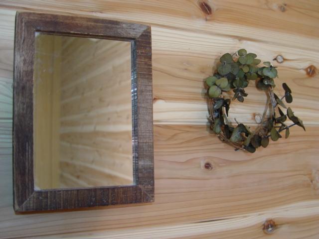 Barnwood Fine Wood Frame Mirror 16 X 22 Cm