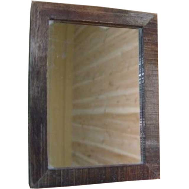 Angels Dust Barnwood Fine Wood Frame Mirror Mirror 16 X 22 Cm