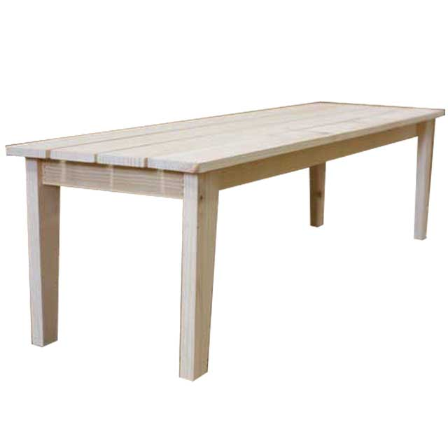 バスラック 木製 ひのき お風呂用のかざり棚 浴室用ラック シャワーラック シャンプーラック 100×28×26cm (無塗装白木) 受注製作