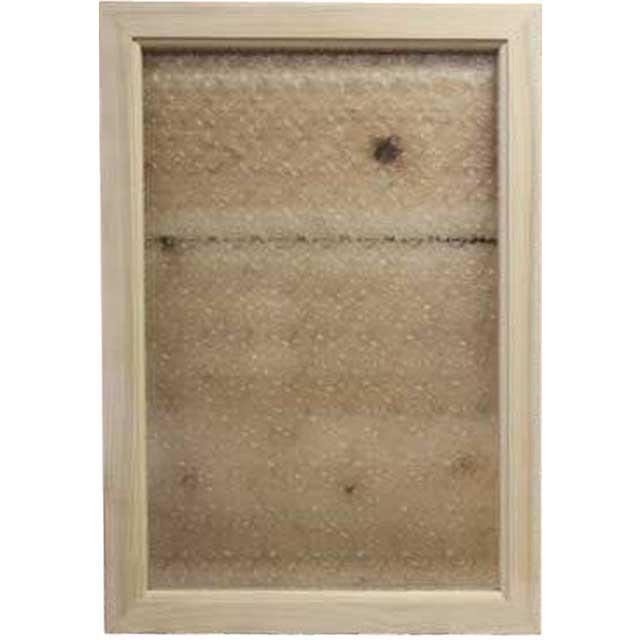 無塗装白木 フローラガラスのガラスフレーム(50×35cm) 北欧 オーダーメイド 1327933