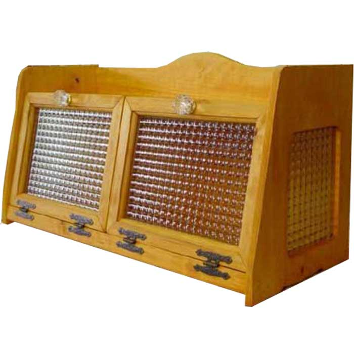 人気大割引 ブレッドケース ダブルサイズ ナチュラル w60d25h32cm ナチュラル チェッカーガラス扉 パンプキンノブ 木製 側面ガラス 木製 ひのき ダブルサイズ オーダーメイド:エンジェルズ ダスト, 奥多摩町:28fc94fc --- nagari.or.id