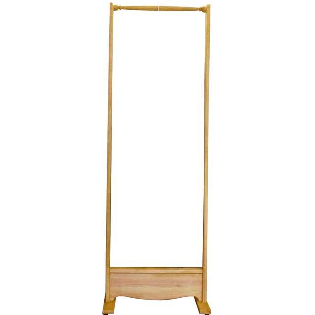 ハンガーラック シンプル ナチュラル w50d40h145cm 木製 ひのき オーダーメイド