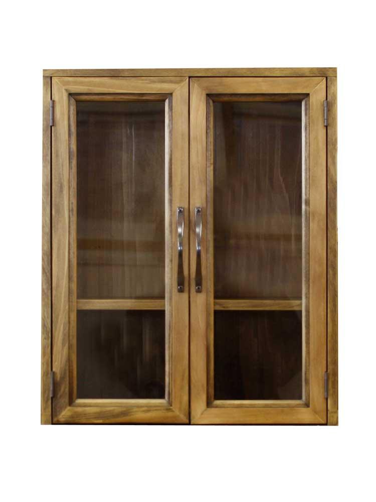 ペットのおぶつだん メモリアルハウス ペット用 木製 ひのき 透明ガラス扉 ペット用仏壇 37×22×45cm アンティークブラウン 受注製作