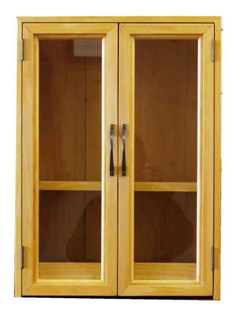 ペットのお仏壇 ブロンズ取手 スライド棚 取外し棚 37×26×51cm ナチュラル 透明ガラス 木製 ひのき ハンドメイド オーダーメイド 1239454