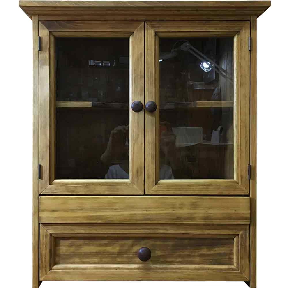 ペットのお仏壇 アンティークブラウン 46x26x53cm 引き出し スライド棚 取り外し可能棚 木製取手 木製 ひのき ハンドメイド オーダーメイド 1451843:エンジェルズ ダスト