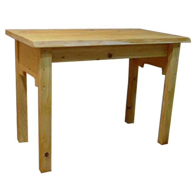 テーブル 自然木 ライトオーク w95d49h68cm 自然の形そのまま 木製 ひのき オーダーメイド