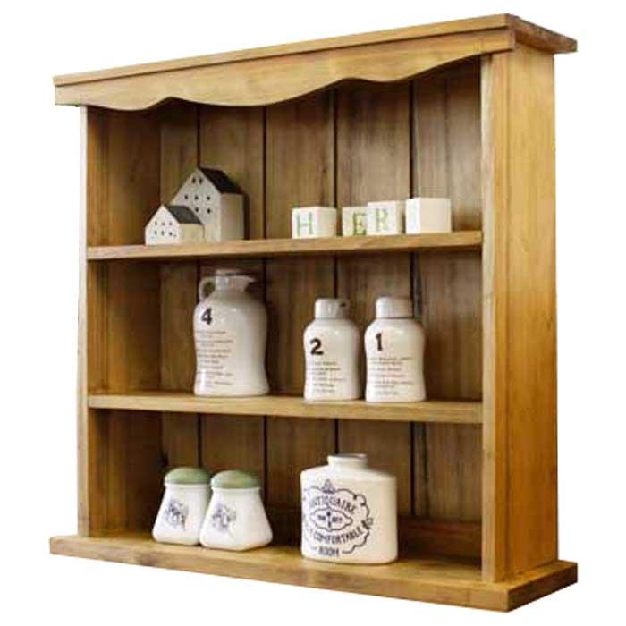 スパイスラック 木製 ひのき 三段スパイスラック コレクションスタンド 飾り棚 収納棚 50×14×48cm 飾り棚 収納棚 アンティークブラウン オーダーメイド