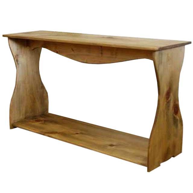 シェルフ 置き型 アンティークブラウン w80d25h44cm ワイドサイズ 木製 ひのき オーダーメイド 1327933