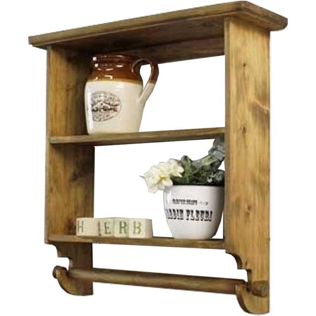 zakka home decor wooden furniture cabinet wood wall shelves home decor wooden furniture Shelf wooden Cypress three-shelf kitchen roll holder with wall hanging  Spice rack hanger antique Brown orders manufacturing