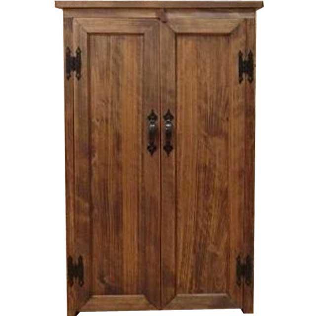 チェスト 木製扉 アンティークブラウン w54d30h85cm キャビネット 収納家具 オーダーメイド