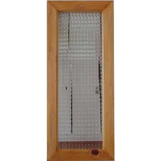 ナチュラル チェッカーガラスのガラスフレーム(25×60cm) 北欧 オーダーメイド 1327933