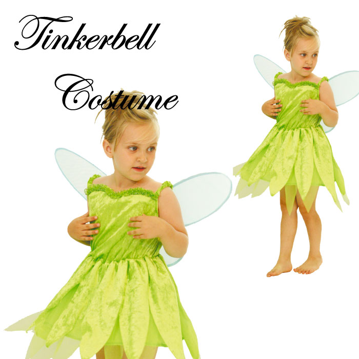 lubbers tinker bell peter pan childrens costume halloween party halloween costumes kids presentation play pretend play wing with 05p30may15