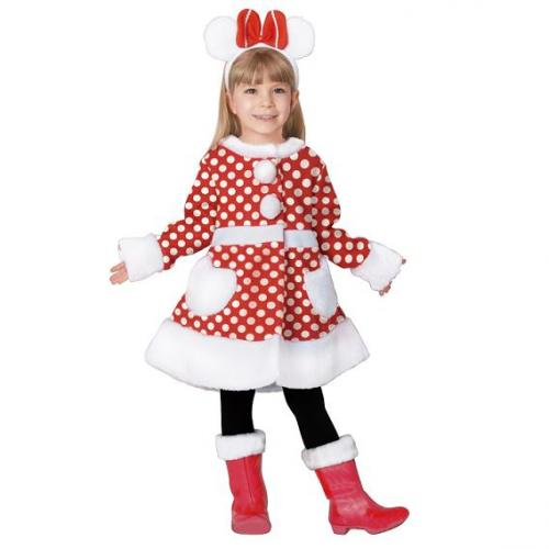To Rubies White Mini Chan MINNIE Child Costume With Christmas Cosplay Halloween Costumes