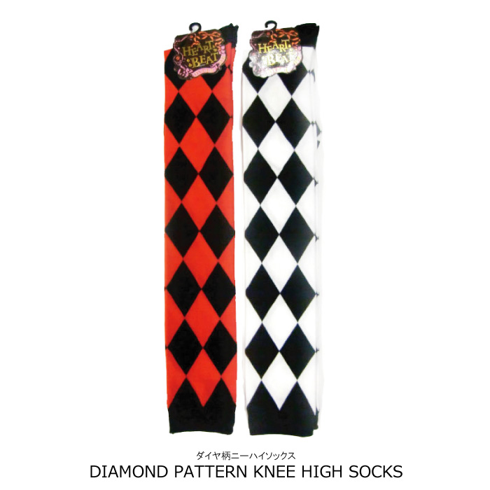 437203e28ea In knee high socks cosplay is popular! Diamond pattern  diamond patterned  over knee ...
